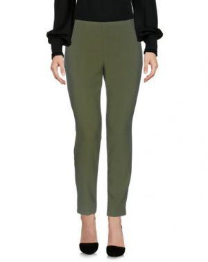Повседневные брюки MALÌPARMI. Цвет: зеленый-милитари