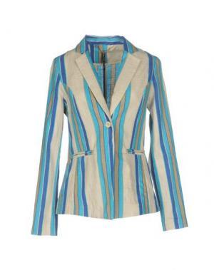 Пиджак MANILA GRACE. Цвет: бежевый
