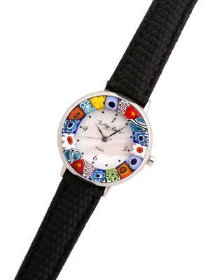 Часы Bottega Murano. Цвет: черный, серебристый