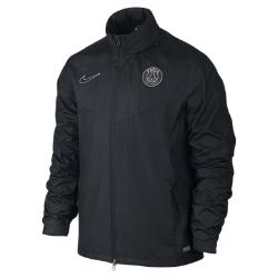 Мужской футбольный дождевик Paris Saint-Germain Storm-FIT 1 Nike. Цвет: черный