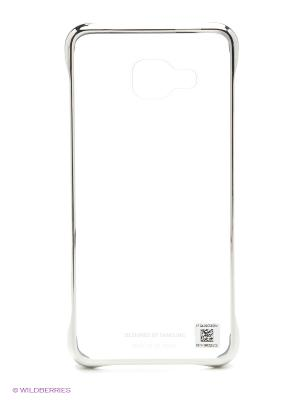 Чехол ClearCover для Galaxy A3 Samsung. Цвет: серебристый