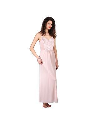 Сорочка BELARUSACHKA. Цвет: персиковый