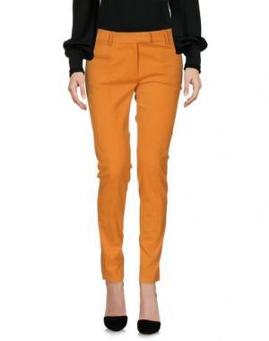 Повседневные брюки TRUE ROYAL. Цвет: оранжевый