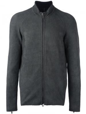 Zip-up long sleeve jacket Salvatore Santoro. Цвет: серый