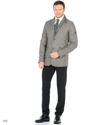 Куртка BAZIONI. Цвет: серый