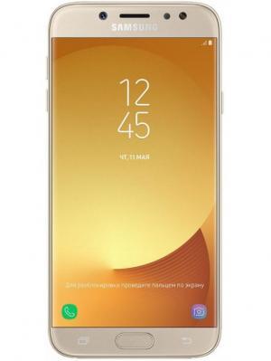 Смартфон Galaxy J7 (2017) 16 Гб золотой Samsung. Цвет: золотистый