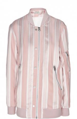 Куртка-бомбер Acne Studios. Цвет: розовый