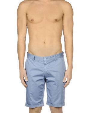Пляжные брюки и шорты BAGUTTA. Цвет: грифельно-синий