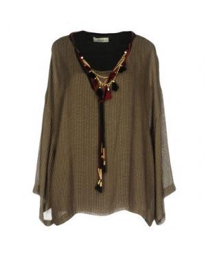 Блузка ELLA LUNA. Цвет: бежевый
