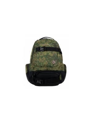 Рюкзак молодежный Alliance. Цвет: зеленый