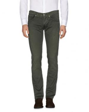 Повседневные брюки DONDUP. Цвет: зеленый