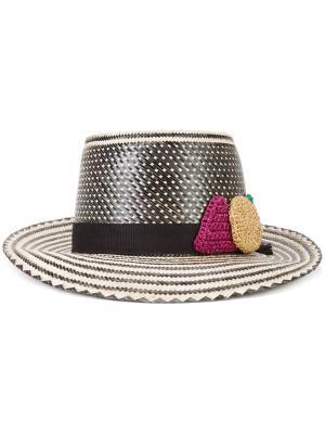 Шляпа  x Lucy Folk Yosuzi. Цвет: чёрный