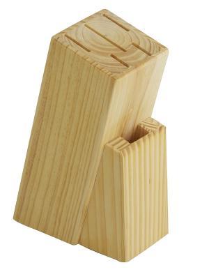 Подставка для ножей Regent inox. Цвет: бежевый