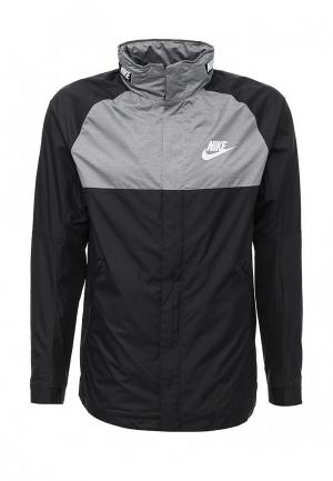 Куртка Nike. Цвет: черный
