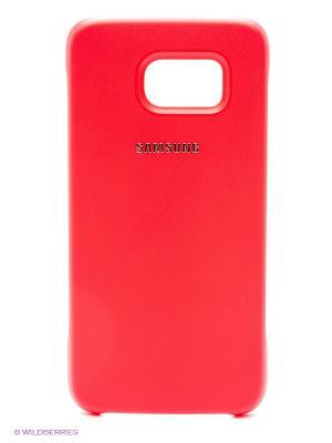Чехол для Samsung Galaxy S6 SM-G920F. Цвет: красный