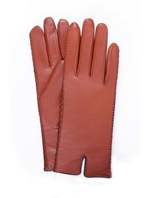 Перчатки BAGGINI. Цвет: рыжий