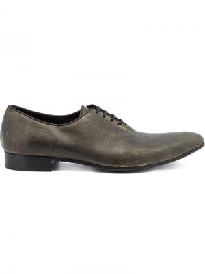 Туфли со шнуровкой Haider Ackermann. Цвет: чёрный