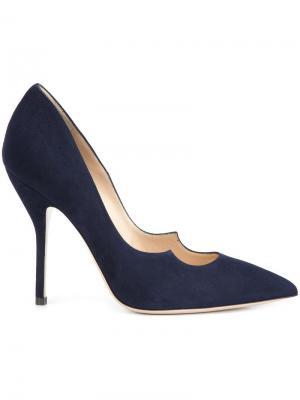 Туфли-лодочки Zenadia Paul Andrew. Цвет: синий