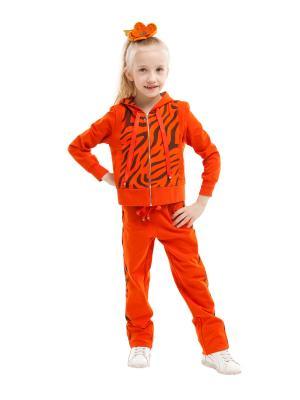 Спортивный костюм TINYFOX. Цвет: терракотовый