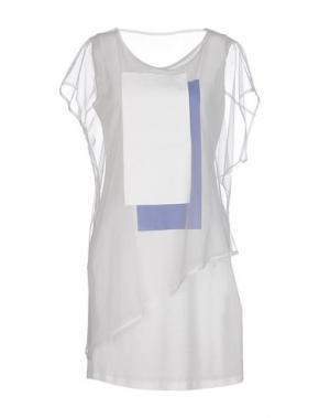 Короткое платье DEMOO PARKCHOONMOO. Цвет: белый