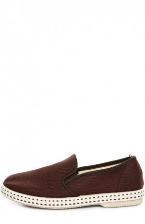 Эспадрильи Rivieras Leisure Shoes. Цвет: коричневый