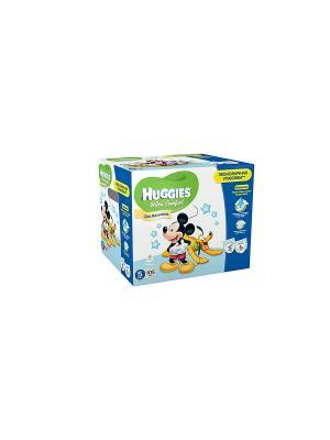 Подгузники Ultra Comfort Размер 5 12-22кг Disney Box 35*3 105шт для мальчиков HUGGIES. Цвет: голубой, синий