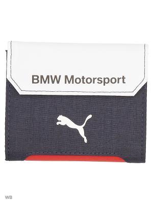Кошелек BMW Motorsport Wallet PUMA. Цвет: синий