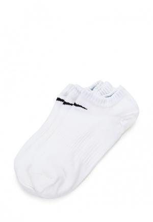 Комплект носков 3 пары Nike. Цвет: белый