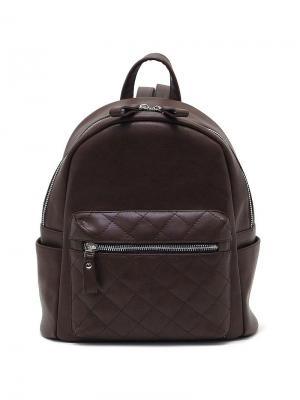 Рюкзак Solo true bags. Цвет: темно-коричневый