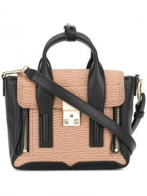 Мини сумка-сэтчел Pashli 3.1 Phillip Lim. Цвет: телесный
