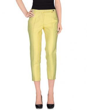 Повседневные брюки •MILANO PARIGI•. Цвет: желтый