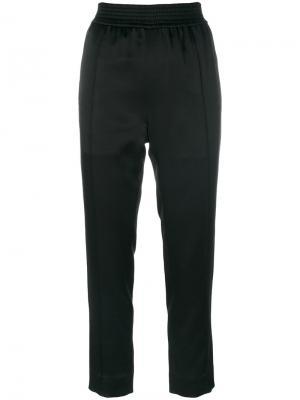 Классические укороченные брюки Haider Ackermann. Цвет: чёрный