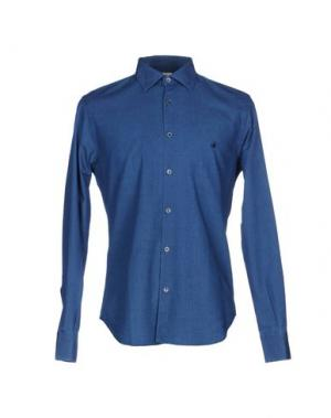 Pубашка BROOKSFIELD. Цвет: темно-синий