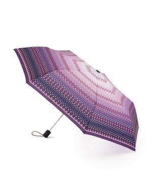 Зонт aвтомат Горох Henry Backer. Цвет: фиолетовый