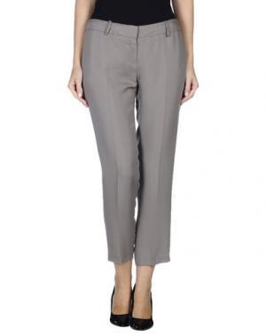 Повседневные брюки ELISABETTA FRANCHI for CELYN b.. Цвет: серый