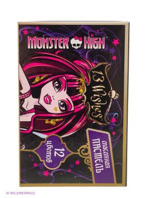 Мелки пастельные, масляные Мonster High, 12 цветов Centrum. Цвет: черный