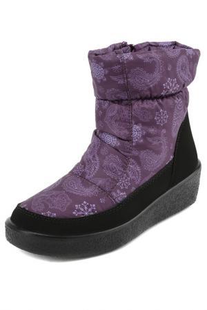 Сапоги АЛМИ. Цвет: фиолетовый