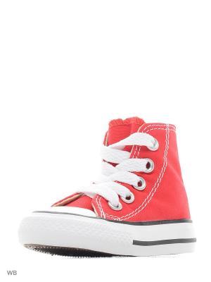 Кеды Chuck Taylor All Star Converse. Цвет: красный