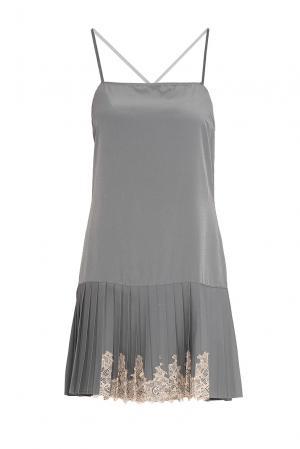 Je Talene Платье из искусственного шелка 137569 T'alene. Цвет: серый