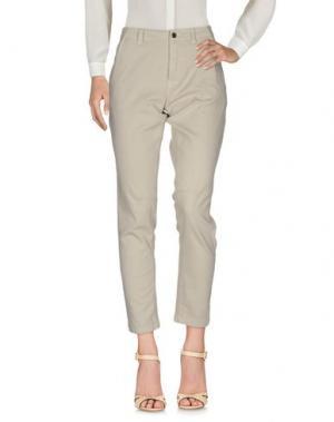 Повседневные брюки EMMA&GAIA. Цвет: светло-серый