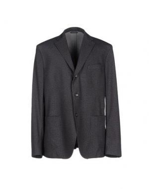 Пиджак MANUEL RITZ. Цвет: стальной серый