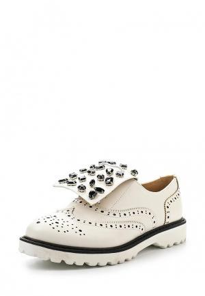 Ботинки Chasse. Цвет: белый