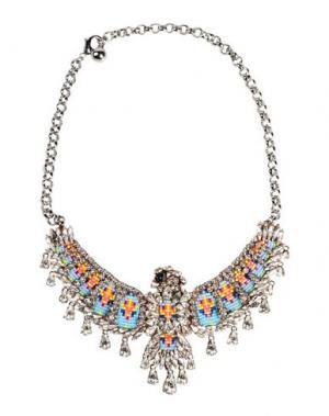 Ожерелье SHOUROUK. Цвет: небесно-голубой