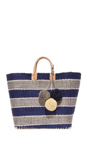 Объемная сумка Capri с короткими ручками Mar Y Sol