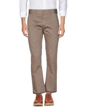 Повседневные брюки MARC JACOBS. Цвет: хаки