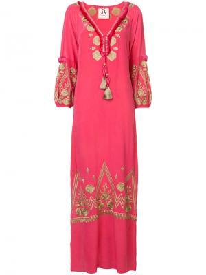 Платье Lola Figue. Цвет: розовый и фиолетовый