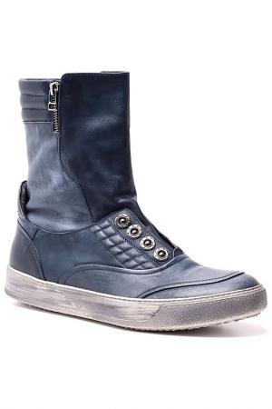 Ботинки AREA FORTE. Цвет: синий