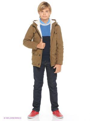 Куртка Tommy Hilfiger. Цвет: коричневый