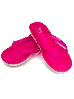 Шлепанцы  женские VSWorld VS. Цвет: розовый, белый