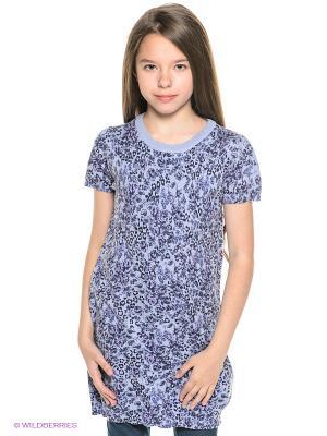 Платье IDO. Цвет: синий, сиреневый, розовый